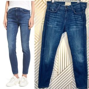 Current/Elliott Stiletto High Waist Skinny Jeans